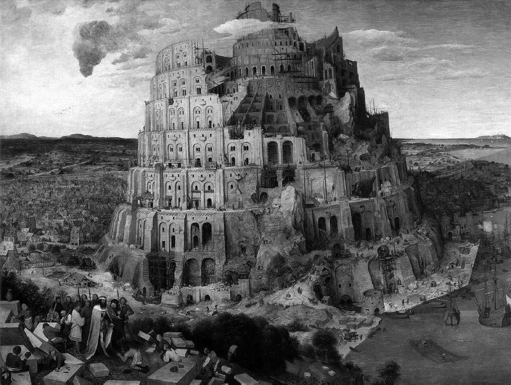 tower-of-babel_bw