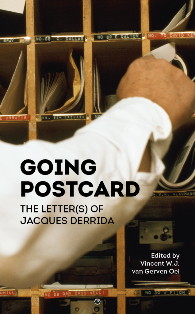 Going Postcard The Letters of Jacques Derrida